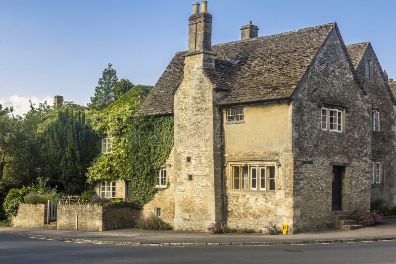 Casa Lacock Wiltshire Inglaterra Reino Unido fotografia de stock