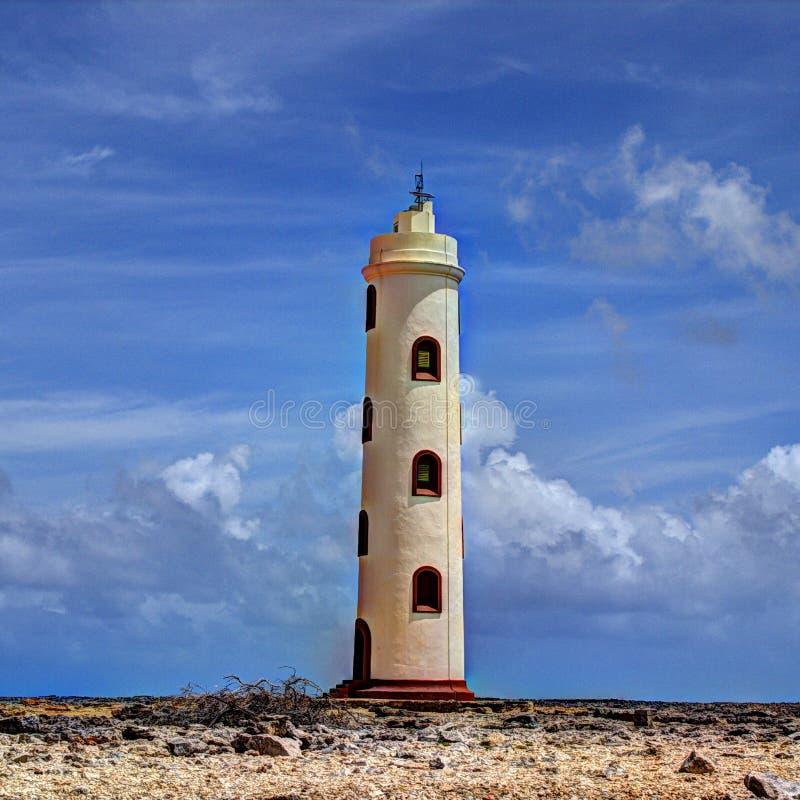 Casa ligera Bonaire el Caribe holandés fotografía de archivo libre de regalías