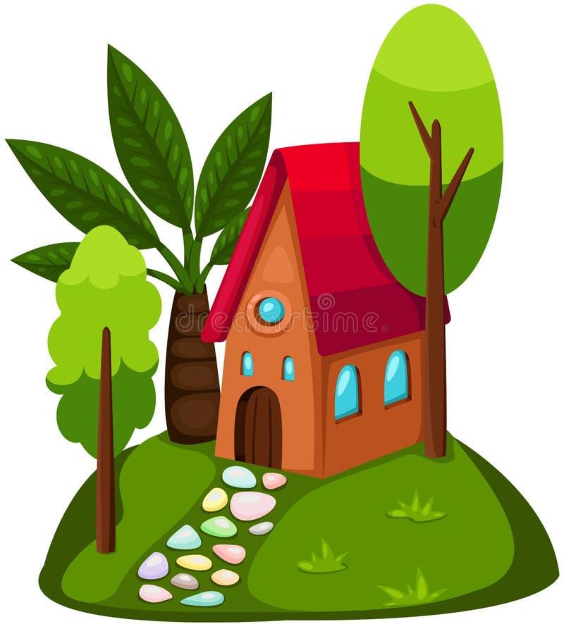 Casa linda libre illustration