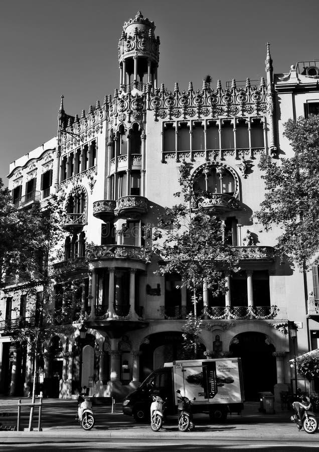 Casa Lleo Morera στοκ φωτογραφία με δικαίωμα ελεύθερης χρήσης