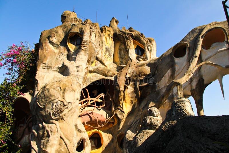 Casa loca, Dalat foto de archivo libre de regalías