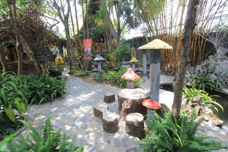 Casa loca en el lat de DA, Vietnam imagenes de archivo