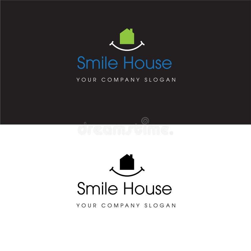 Casa Logo Real Estate Design e icono casero stock de ilustración