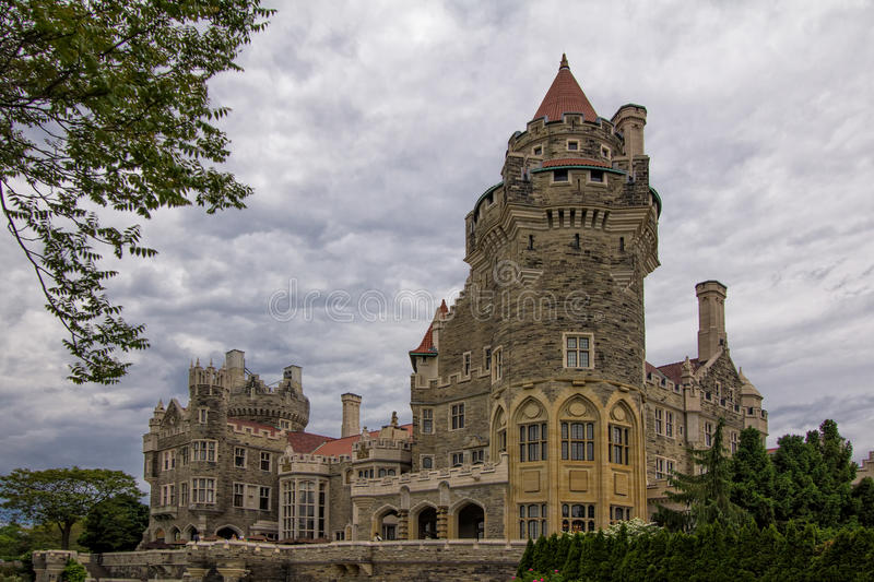 Casa Loma castle in Toronto, Ontario royalty free stock photo