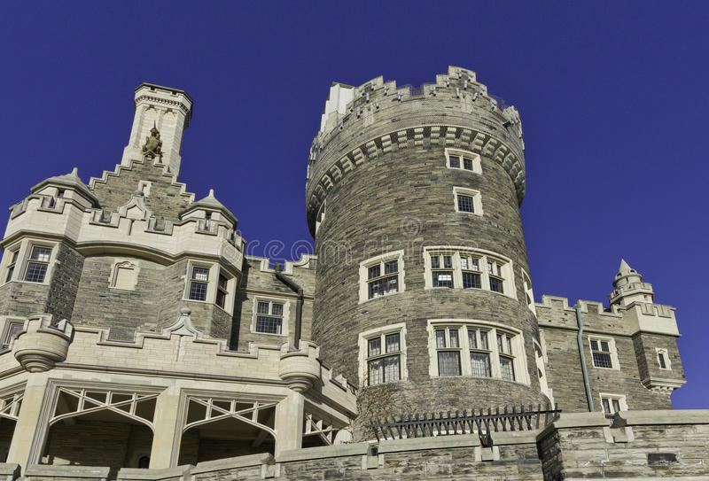 Casa Loma castle royalty free stock photos