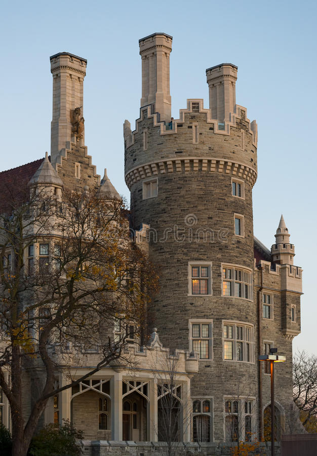 Casa Loma Castle - west tower royalty free stock images
