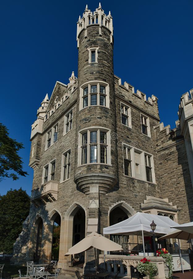 Casa Loma Toronto. Casa Loma. A Gothic Revival style house and gardens in midtown Toronto, Ontario, Canada, that is now a museum and landmark. It was built as a royalty free stock image