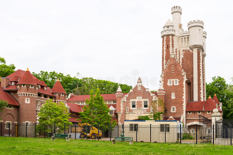 Casa Loma Stables stock photo