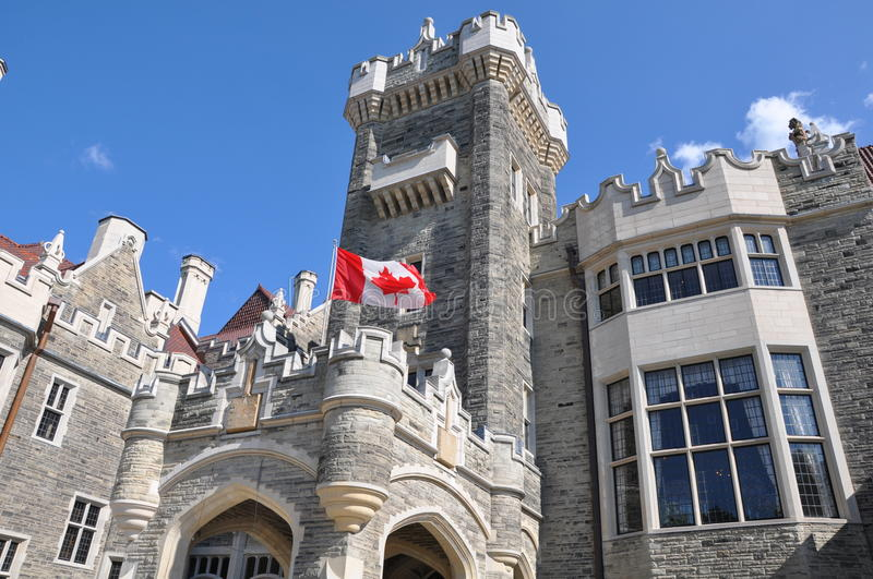 Casa Loma in Toronto royalty free stock photos