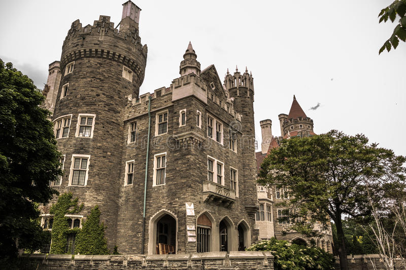 Casa Loma Toronto royalty free stock images