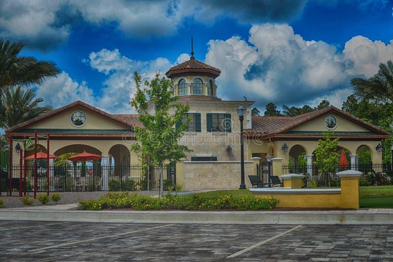 Casa luxuosa em Florida fotografia de stock royalty free