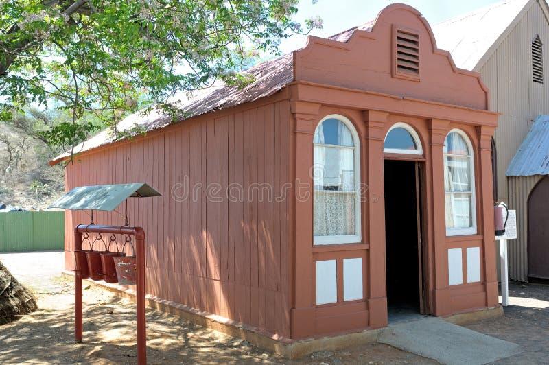 A casa a mais velha em Kimberley fotografia de stock royalty free
