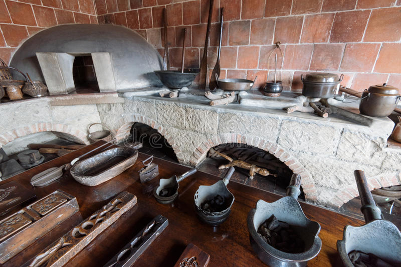 Casa Manila Museum in Manila Philippines. Manila, Philippines - November 30, 2016: Casa Manila is a museum in Intramuros depicting colonial lifestyle during royalty free stock photography