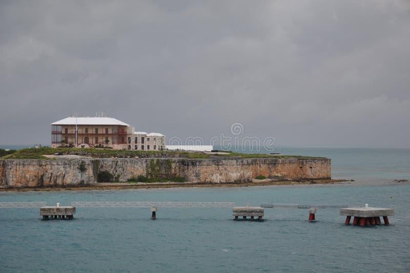 Casa marítima de Bermuda do museu & do comissário imagens de stock