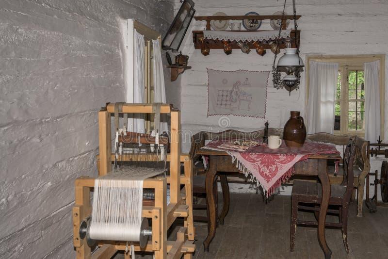 Casa medieval fotografía de archivo