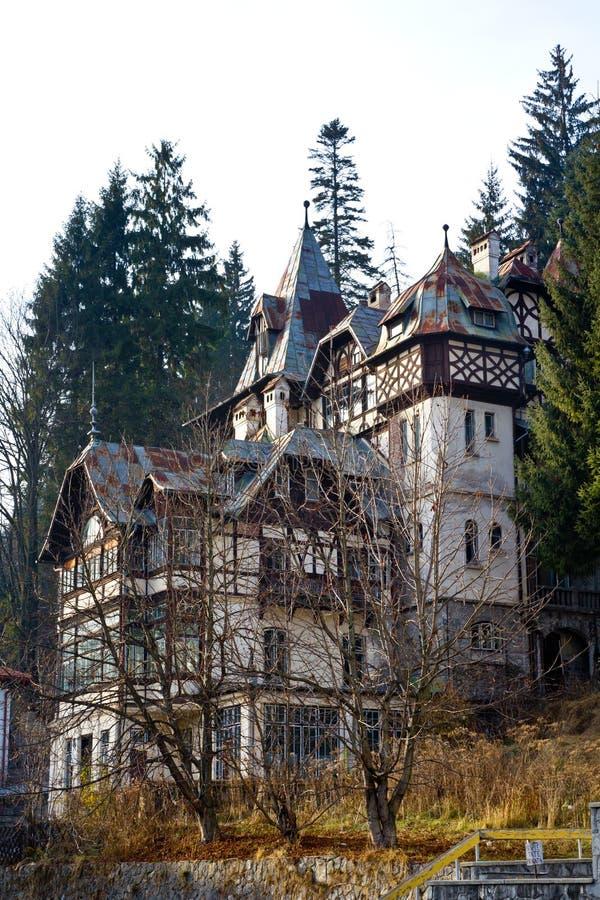 Casa medieval fotografia de stock royalty free