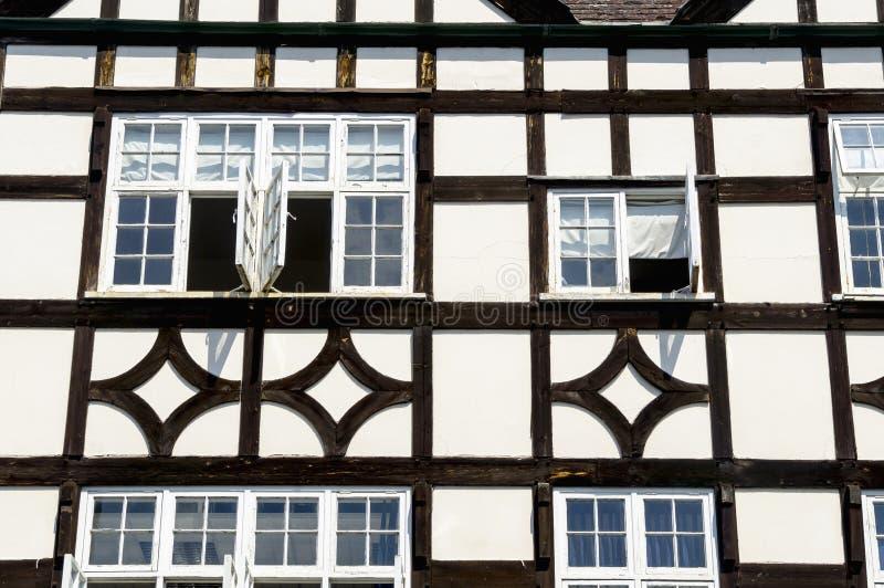 Casa medieval Timber-framed foto de stock royalty free