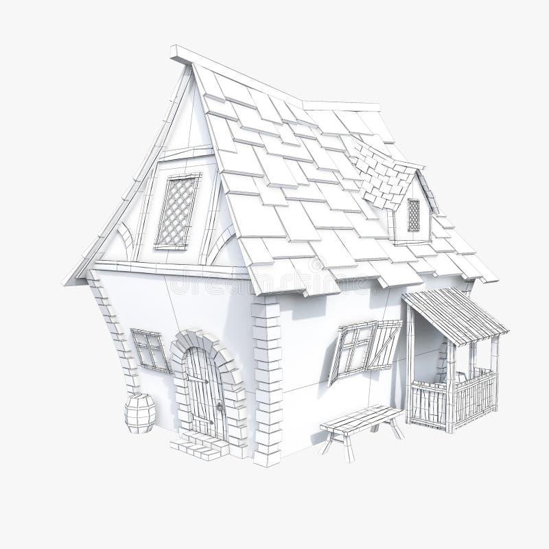 casa medievale stilizzata 114980391