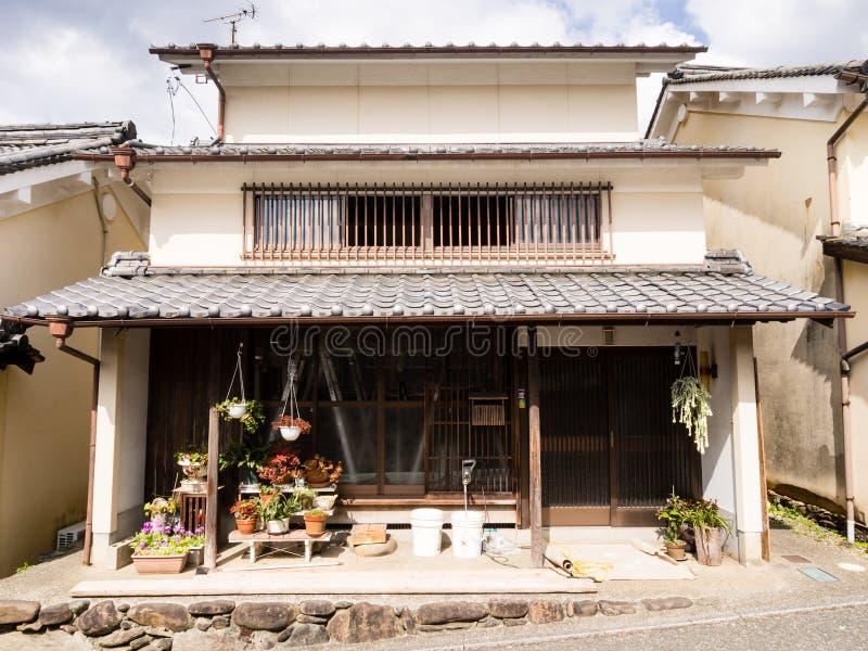 Casa mercantile giapponese tradizionale fotografia stock for Casa giapponese tradizionale