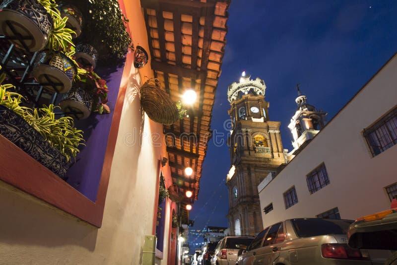 Casa mexicana do estilo em Puerto Vallarta imagens de stock