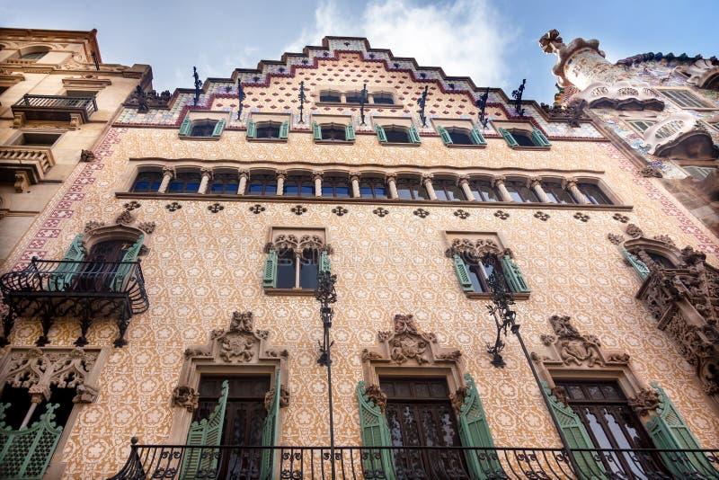 Casa Batllo Antoni Gaudi House Museum Barcelona Ca royalty free stock photos