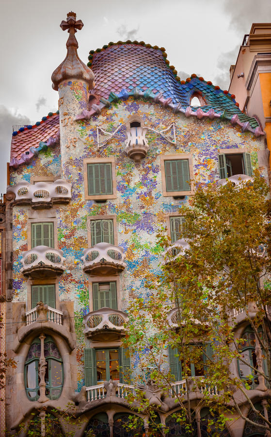 Casa Batllo Antoni Gaudi House Museum Barcelona Ca