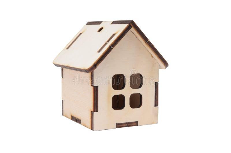 Casa modelo do brinquedo diminuto foto de stock royalty free