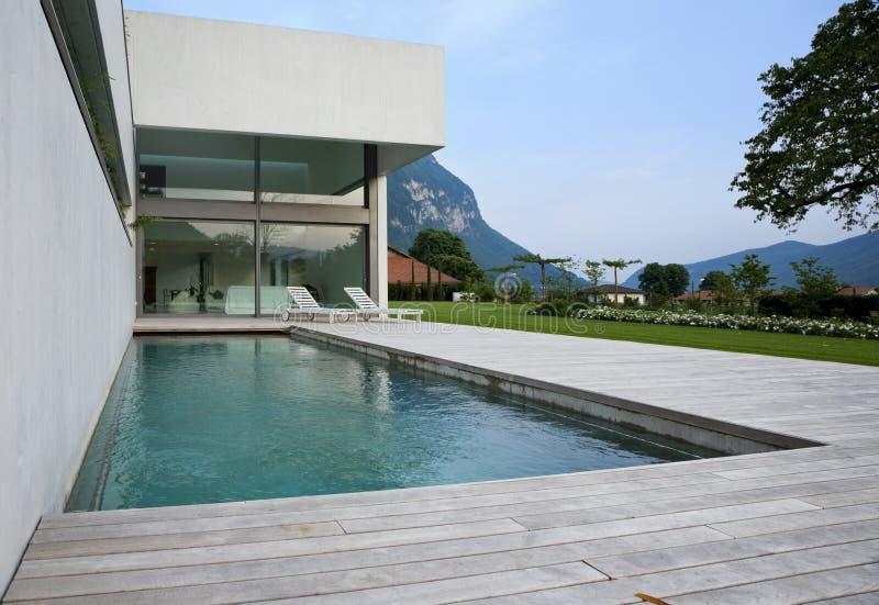casa moderna foto de stock royalty free