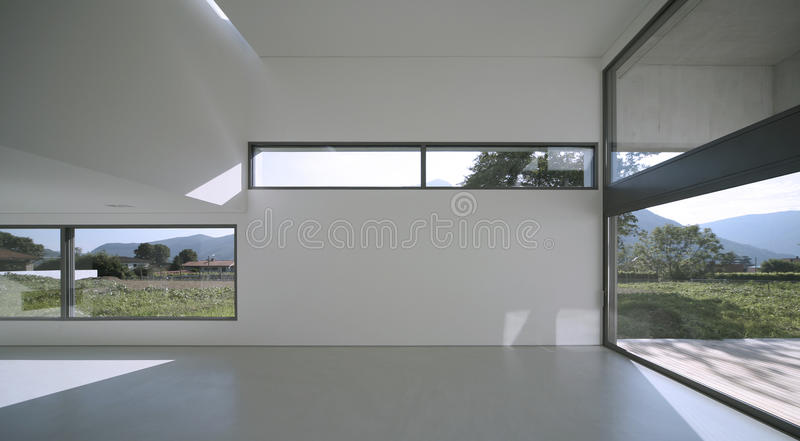 Casa moderna fotografia stock immagine di stanza grande for Download gratuito di piani casa moderna