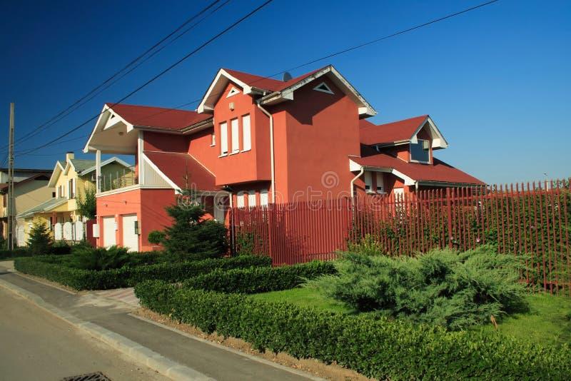 Casa moderna immagine stock immagine di cielo nazionale for Download gratuito di piani casa moderna