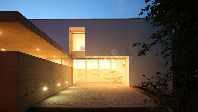Casa moderna fotografia stock libera da diritti