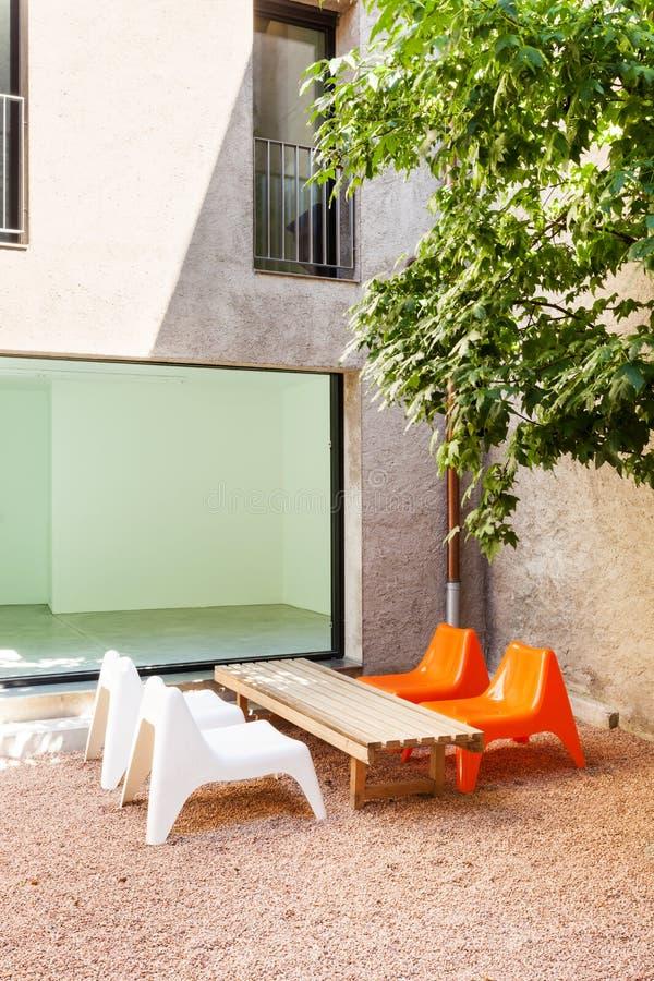 Casa moderna bonita imagens de stock royalty free