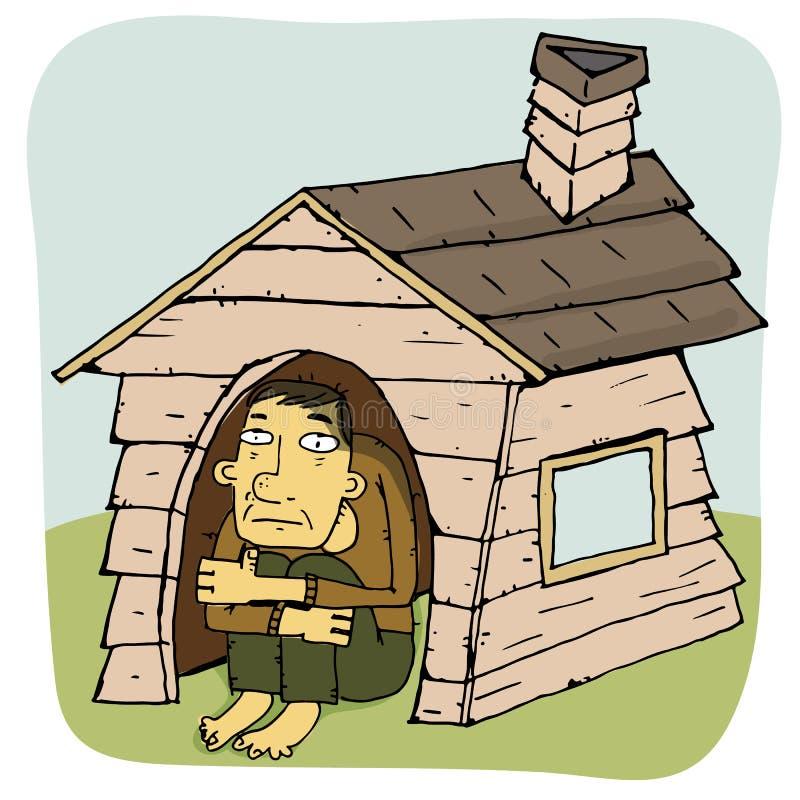 Casa molto stretta royalty illustrazione gratis