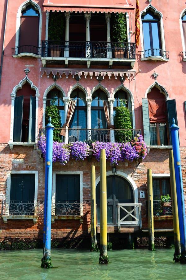Casa na água, Veneza, Itália foto de stock royalty free