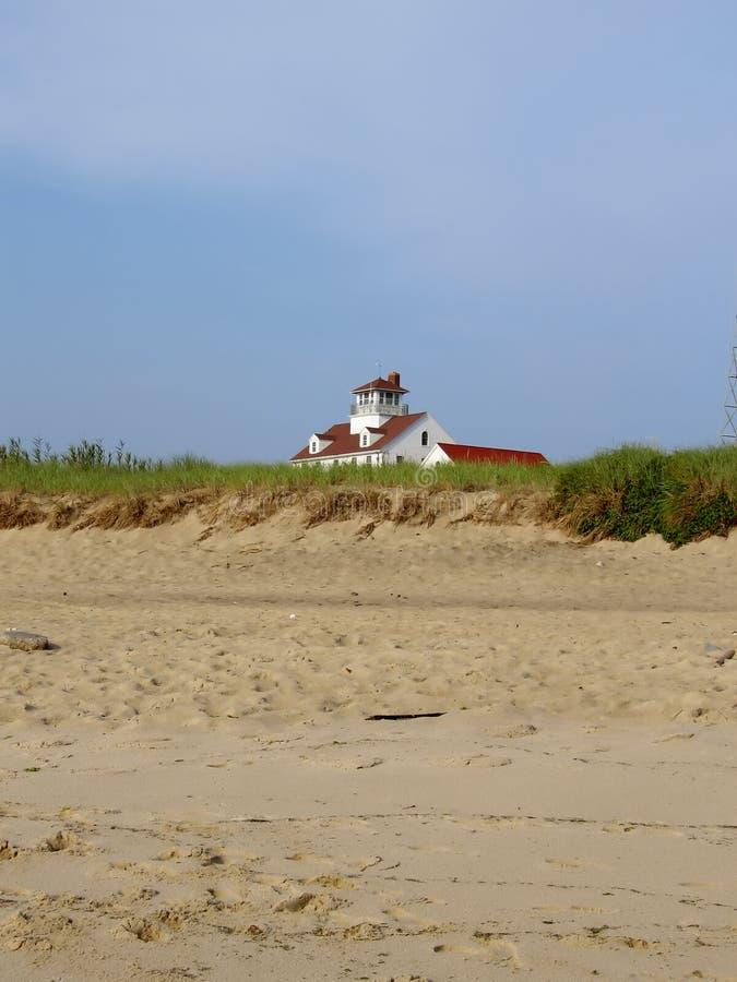 Casa na praia outra vez fotos de stock royalty free