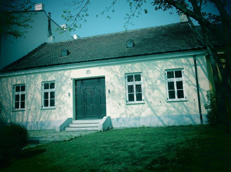 Casa na vila de Grinzing foto de stock