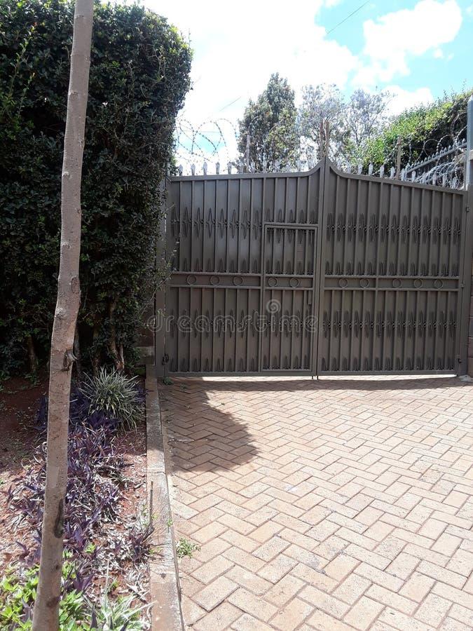 Casa Nairobi Kenya imagens de stock royalty free