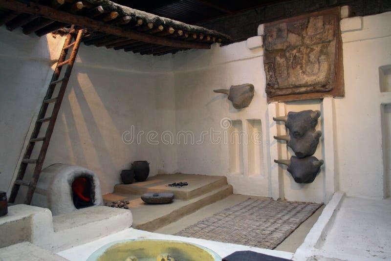 Casa Neolítico fotografia de stock