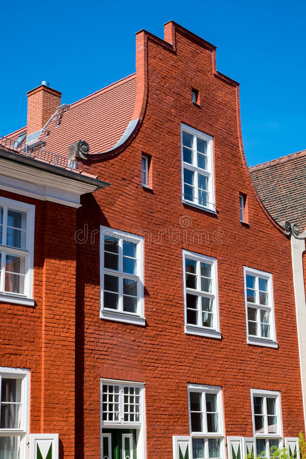 Casa no quarto holandês imagens de stock
