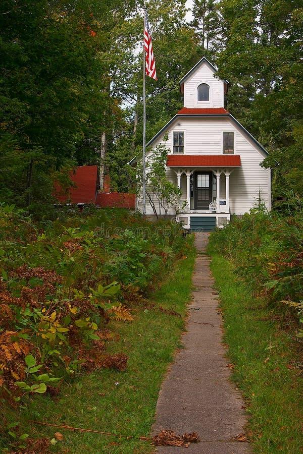 Download A Casa No Santuário Dos Cumes Foto de Stock - Imagem de historic, condado: 66440