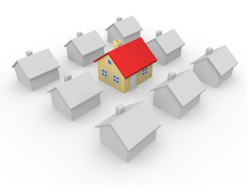Casa notable libre illustration