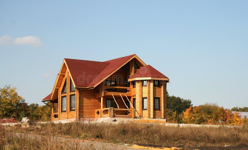 A casa nova de uma árvore fotografia de stock royalty free