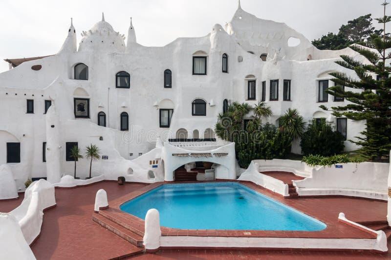 Casa osada Punta Del Este obraz royalty free