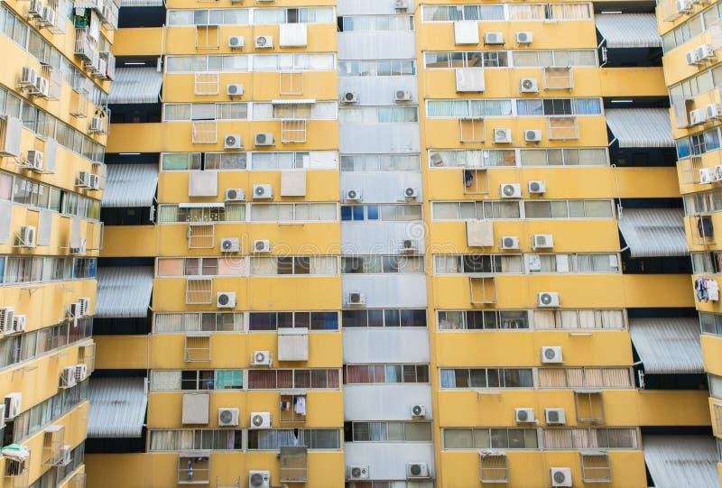 Casa ou construção urbana, teste padrão da fachada imagem de stock