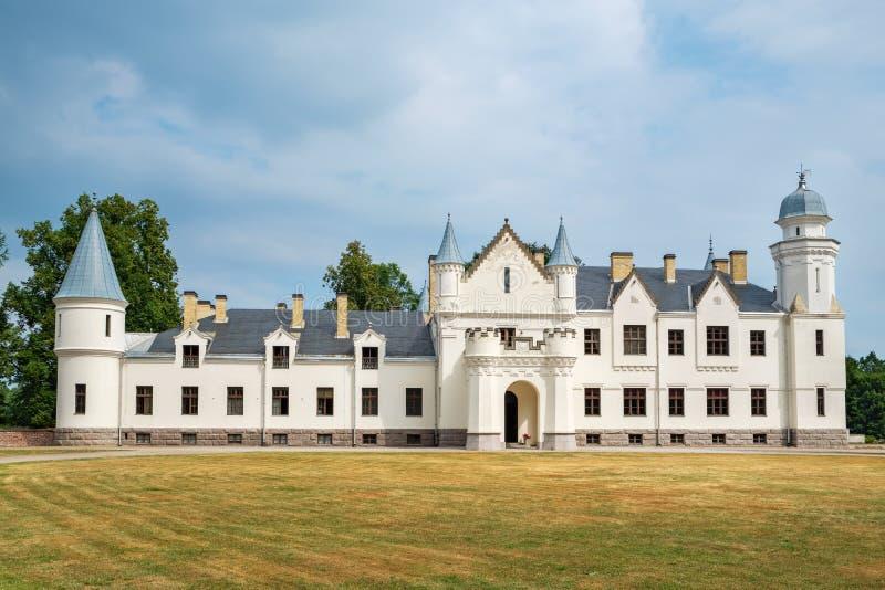 Casa padronale Alatskivi, Estonia, UE fotografia stock libera da diritti