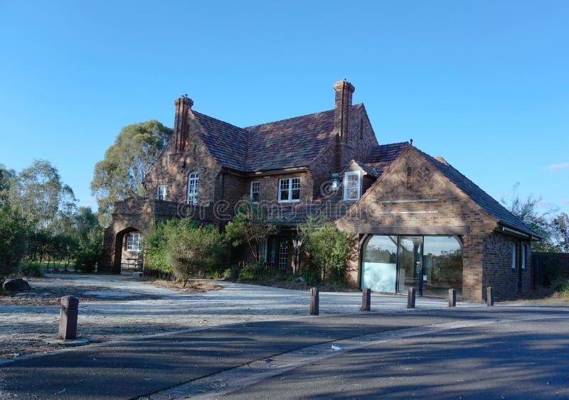 Casa padronale a Templestowe Vic Australia fotografie stock