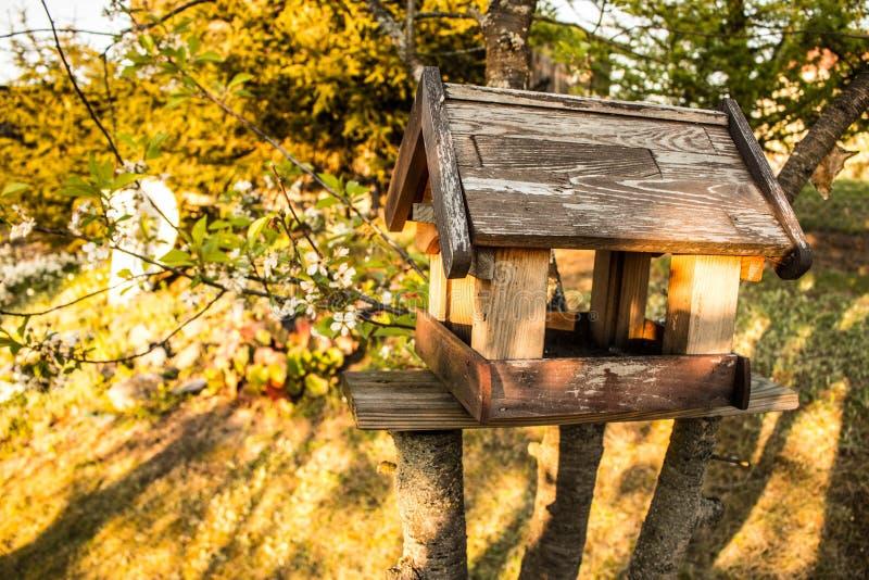 Casa para pássaros fotografia de stock