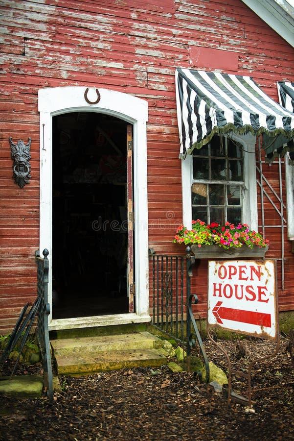 Casa para a venda, Real Estate da casa aberta foto de stock