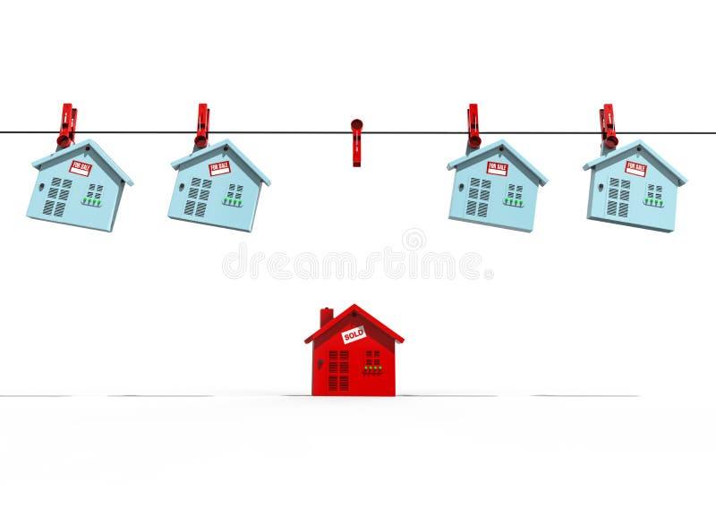 Casa para vendido libre illustration