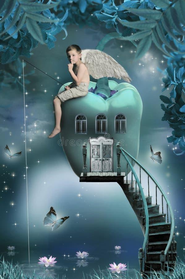 Casa-pepe magico fotografie stock libere da diritti
